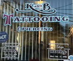K and B Tattooing and Piercing