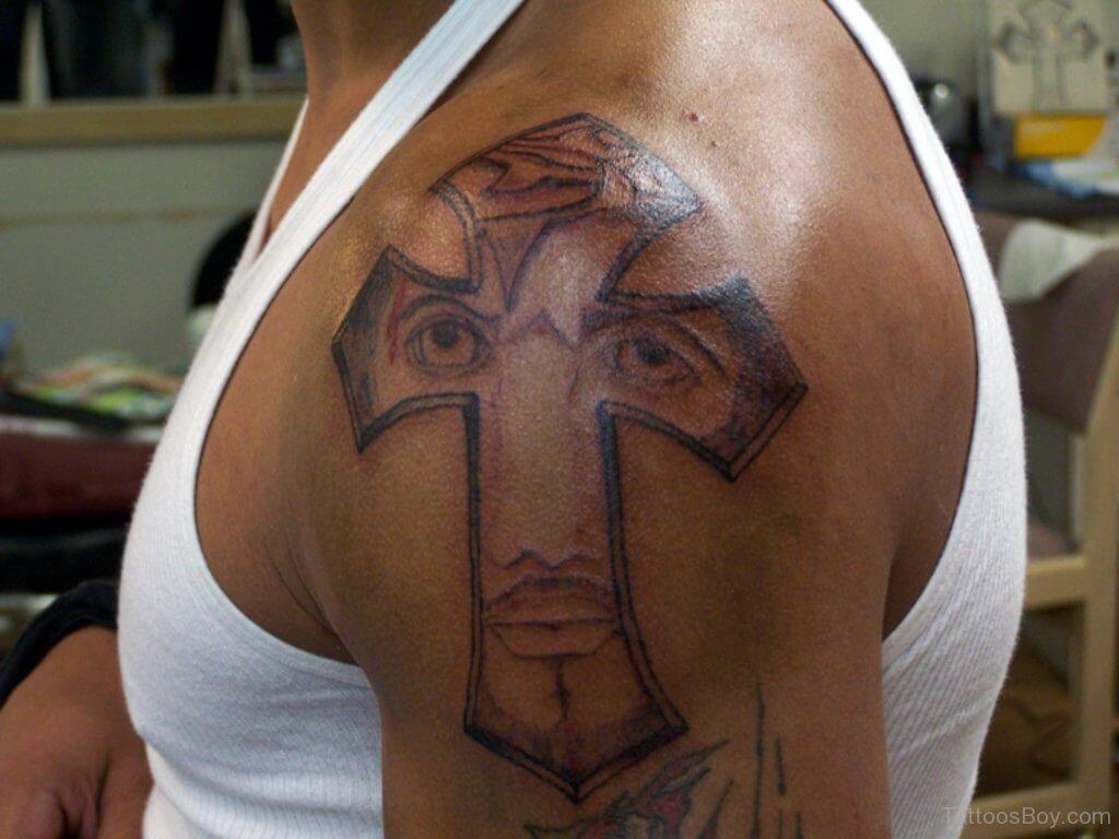 How to Find Cross Tattoo Designs 13