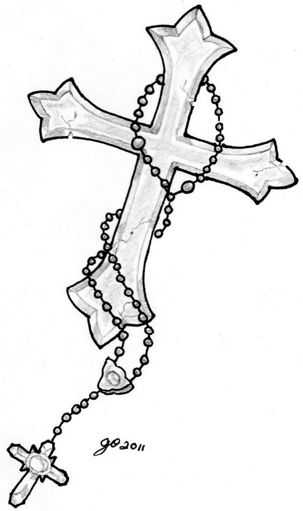 How to Find Cross Tattoo Designs 14