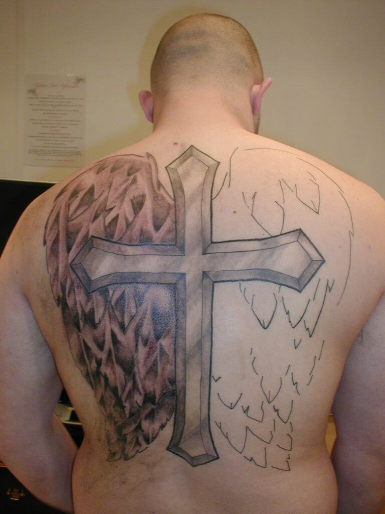 How to Find Cross Tattoo Designs 16