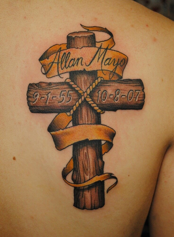 How to Find Cross Tattoo Designs 22