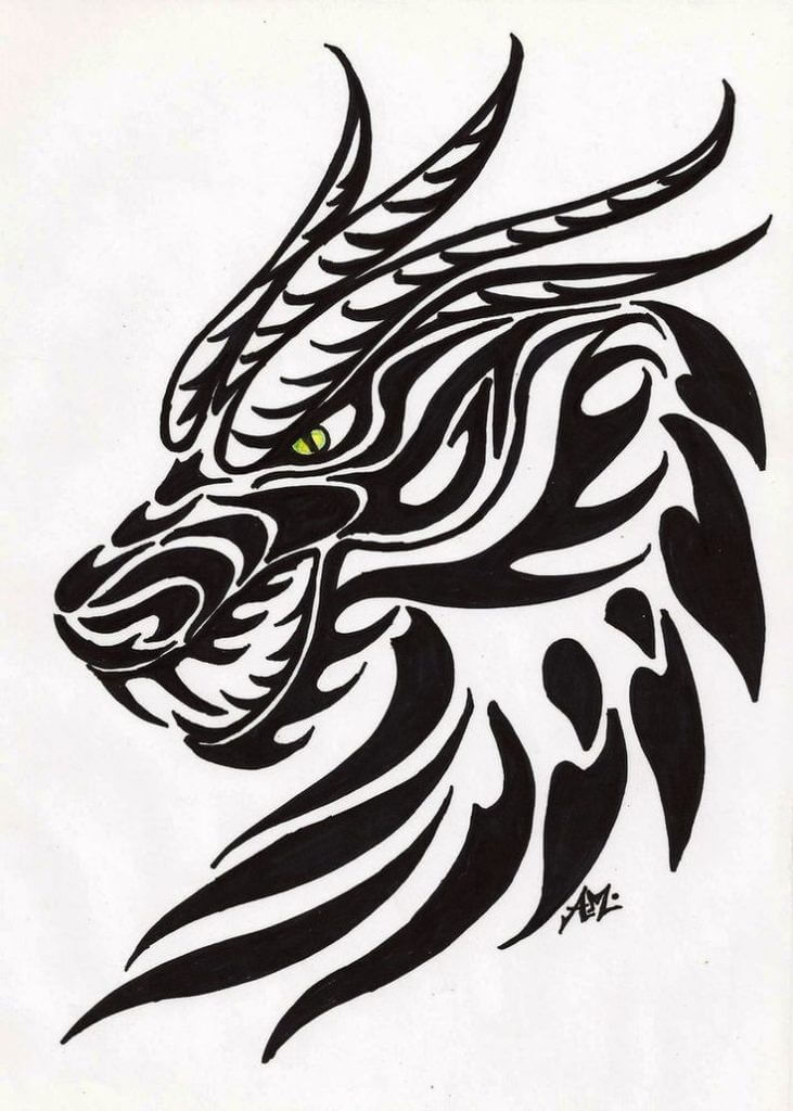 10 Dragon Tattoo Ideas 10