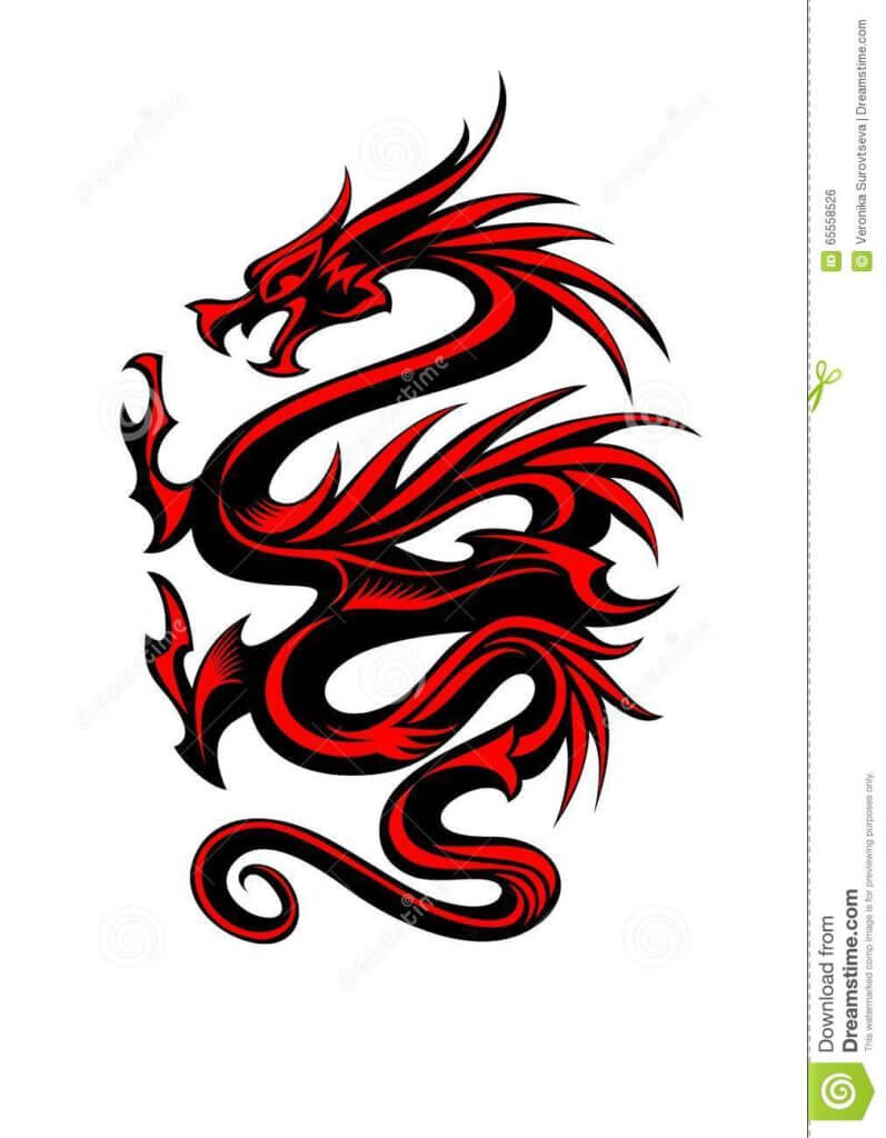 10 Dragon Tattoo Ideas 12