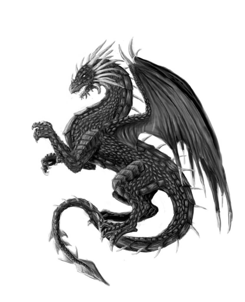 10 Dragon Tattoo Ideas 13