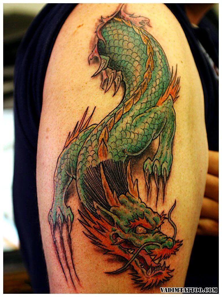 10 Dragon Tattoo Ideas 2
