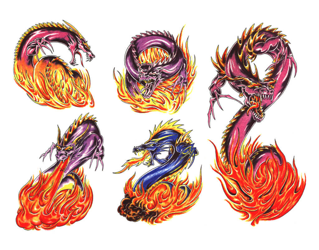 10 Dragon Tattoo Ideas 19