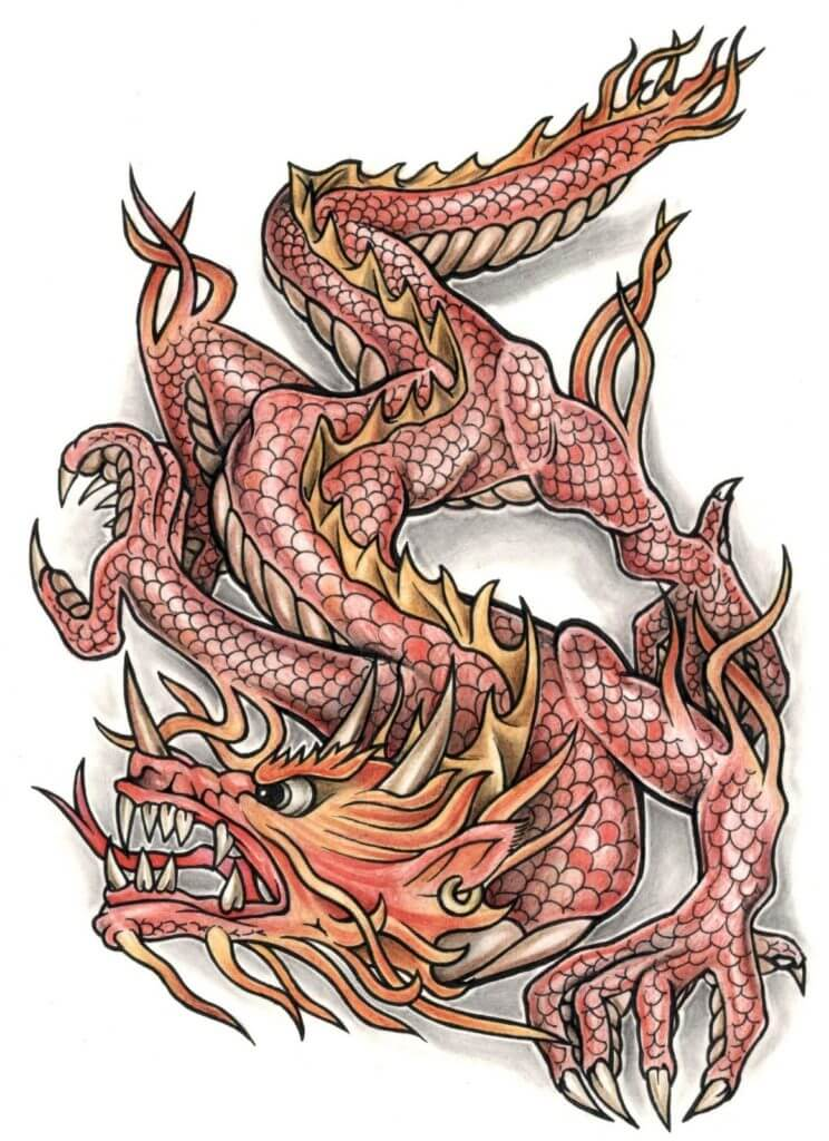 10 Dragon Tattoo Ideas 6