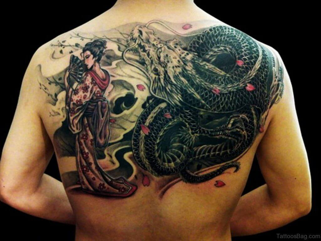 10 Dragon Tattoo Ideas 23