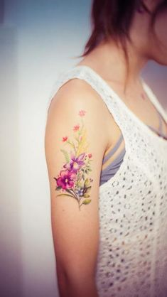 Flower Tattoos and Their Meanings 6