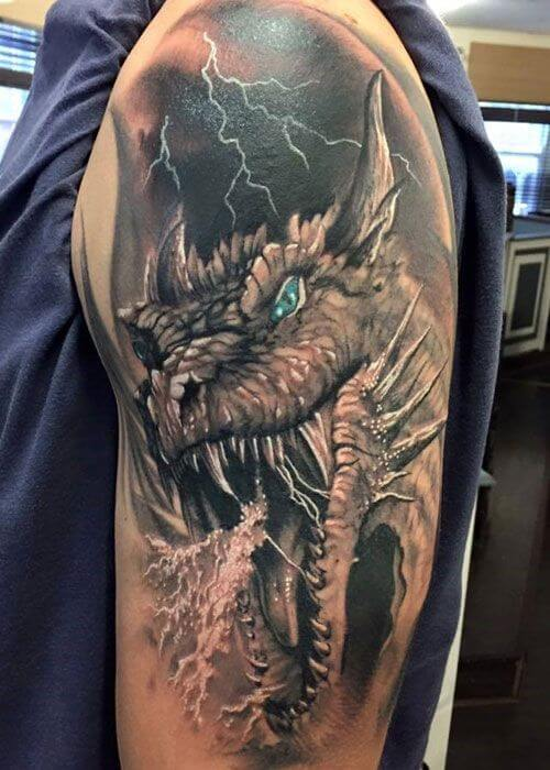 Find the Perfect Japanese Dragon Tattoo for You 7