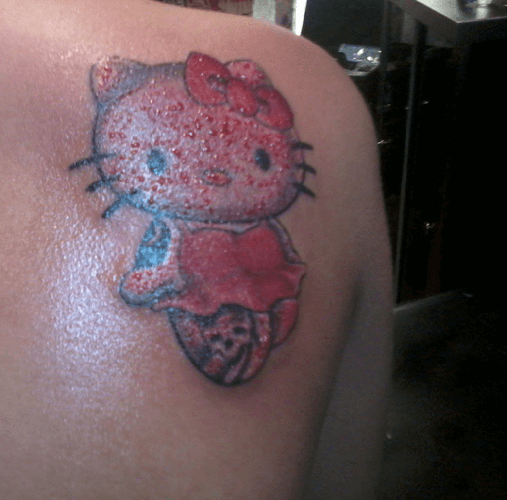 Hello Kitty Tattoo Design Resources 7