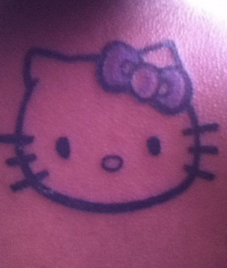 Hello Kitty Tattoo Design Resources 11