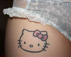Hello Kitty Tattoo Design Resources 16