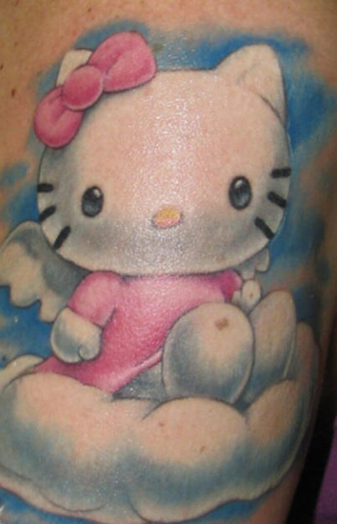 Hello Kitty Tattoo Design Resources 2