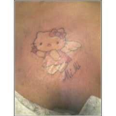 Hello Kitty Tattoo Design Resources 3