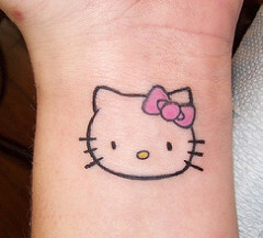 Hello Kitty Tattoo Design Resources 5