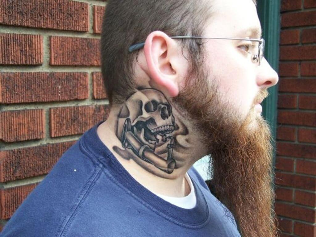 Hot Neck Tattoos ideas for this year 14