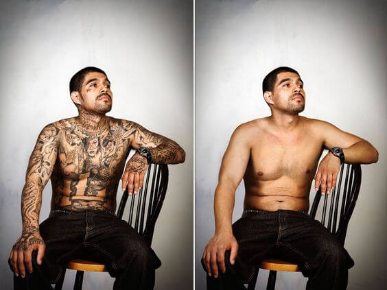 photoshop tattoo removal