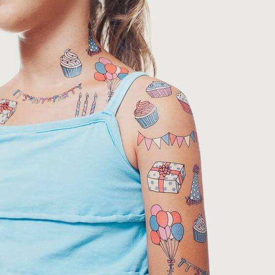 temporary tattoo for kids