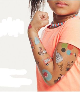 temporary tattoos for childrens