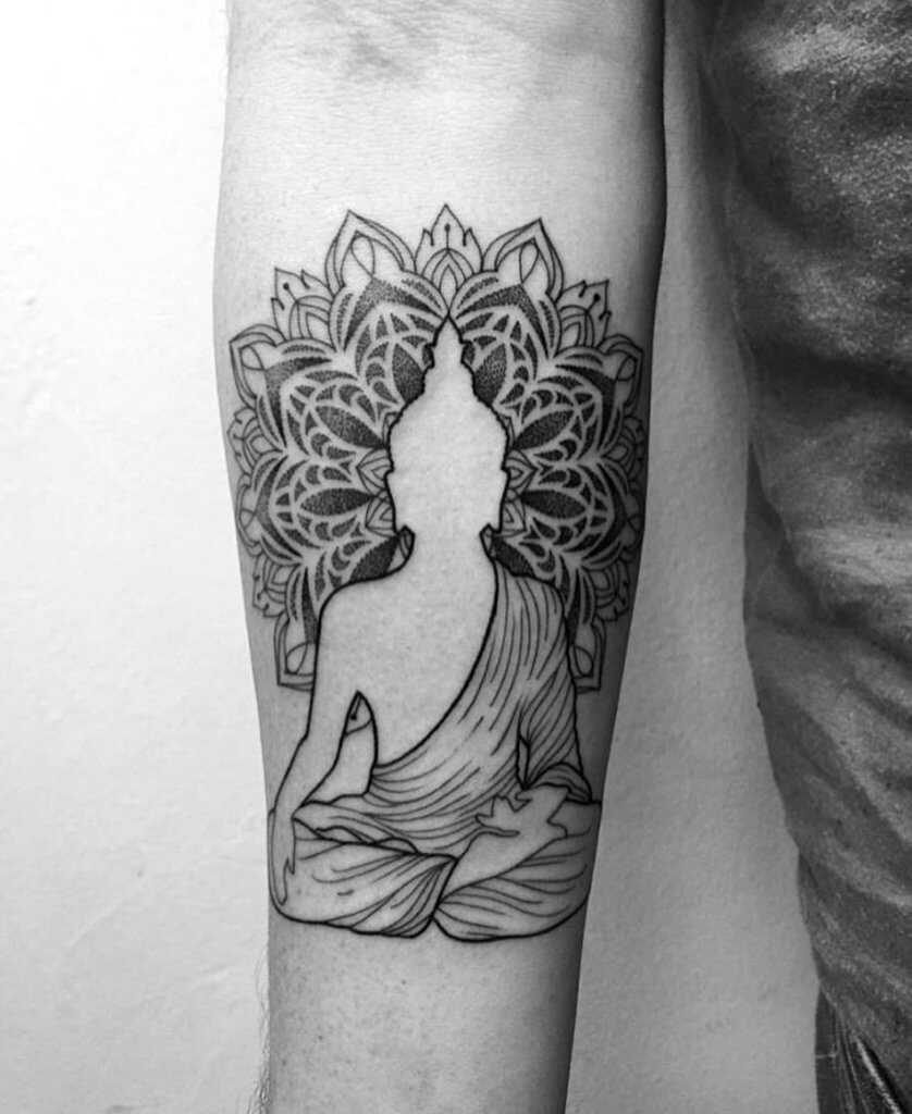 Enlisting the best Ideas for Buddhist Tattoos 38