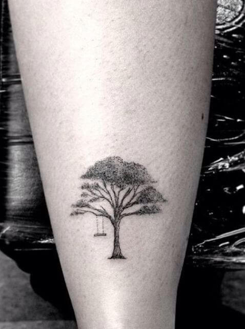Top 10 And Best ideas for having Oak Tree Designed Tattoos 1