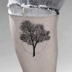 Top 10 And Best ideas for having Oak Tree Designed Tattoos 23