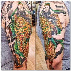 A Review of The Rising Dragon Tattoo Parlor in New York City 2