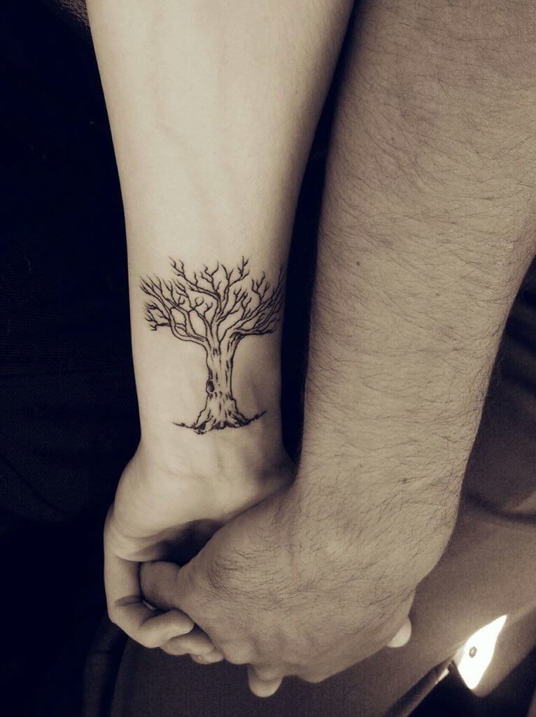 Top 10 And Best ideas for having Oak Tree Designed Tattoos 4