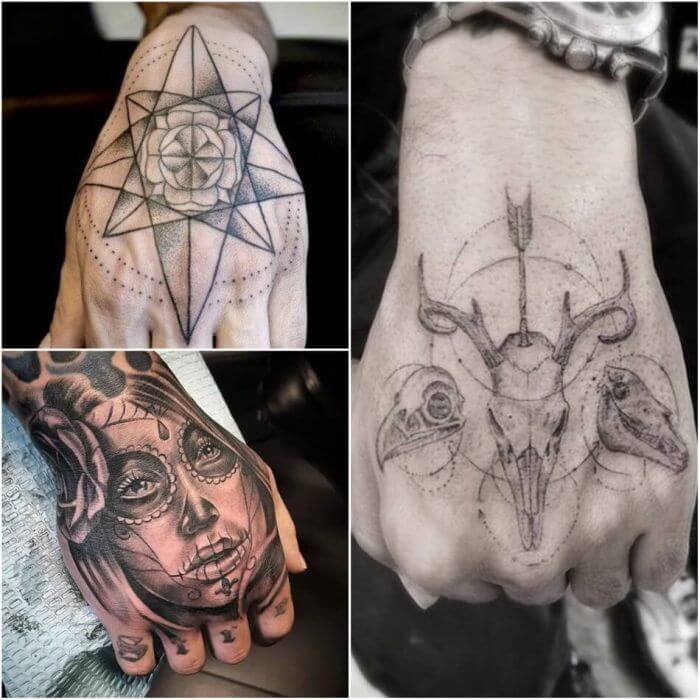 20 Hand Tattoo Ideas With Pictures 10
