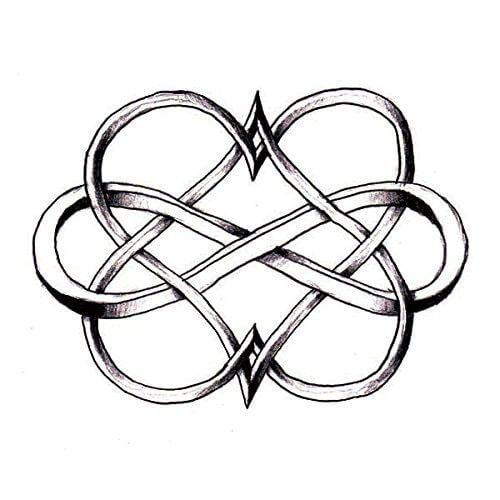 Here are top 10 ideas for embossing an infinity tattoo 12