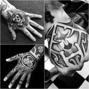 20 Hand Tattoo Ideas With Pictures 11