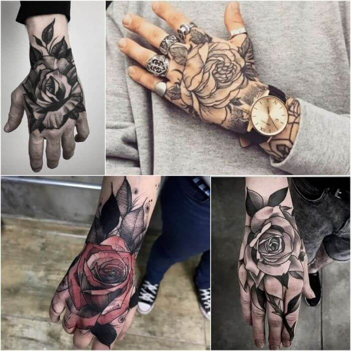 20 Hand Tattoo Ideas With Pictures From 2020