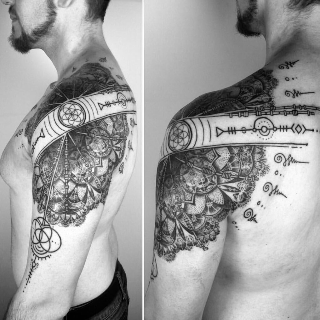 Enlisting the best Ideas for Buddhist Tattoos 42