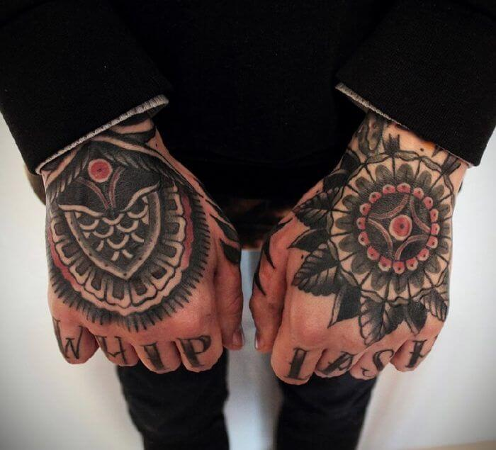 20 Hand Tattoo Ideas With Pictures 13