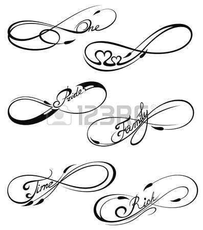 Here are top 10 ideas for embossing an infinity tattoo 14