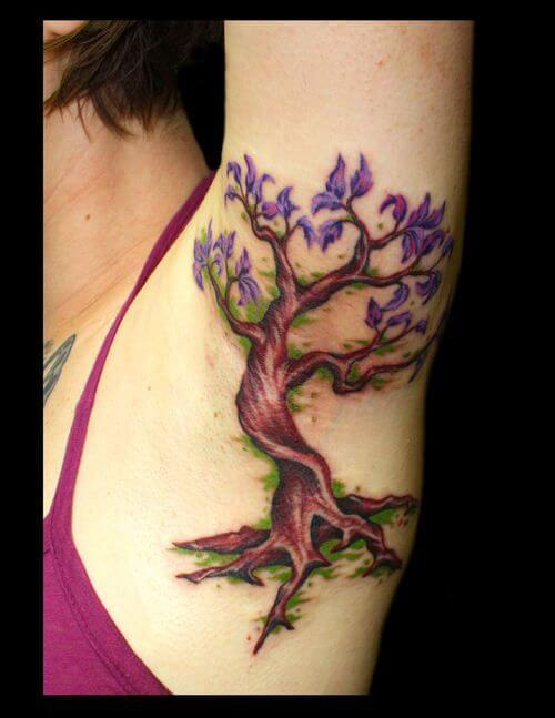 Top 10 And Best ideas for having Oak Tree Designed Tattoos 24
