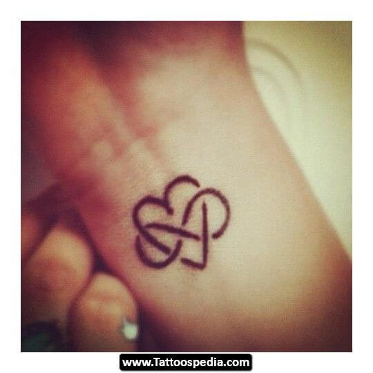 Here are top 10 ideas for embossing an infinity tattoo 19