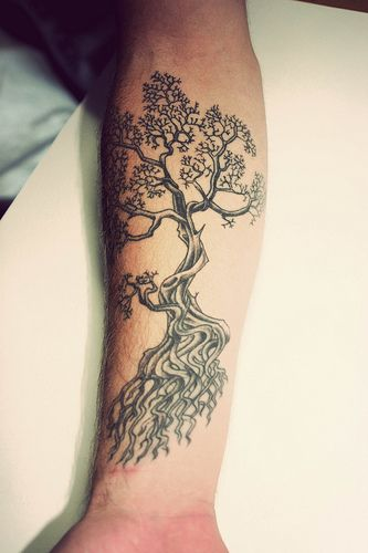 Top 10 And Best ideas for having Oak Tree Designed Tattoos 6