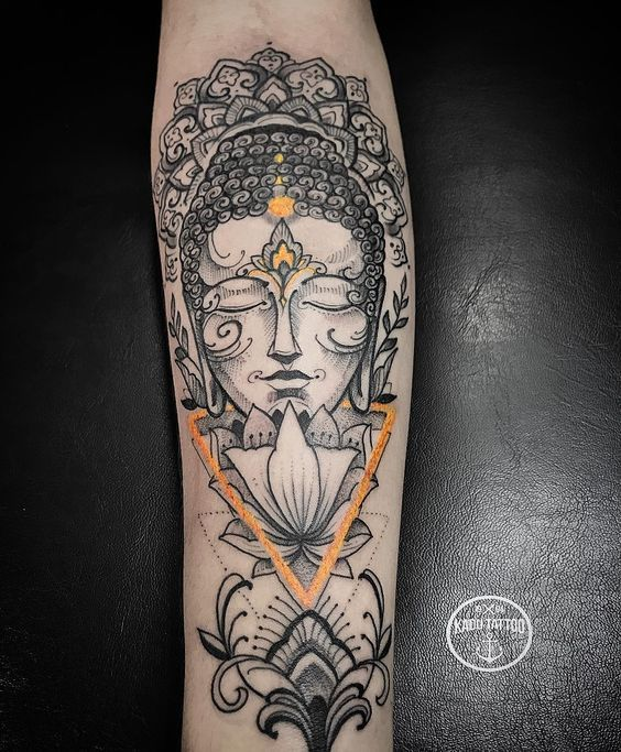 Enlisting the best Ideas for Buddhist Tattoos 55