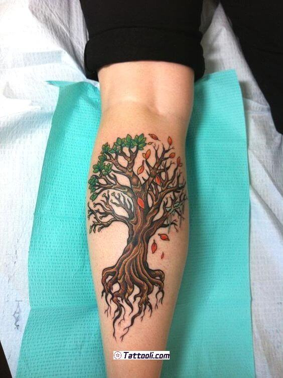 Top 10 And Best ideas for having Oak Tree Designed Tattoos 25