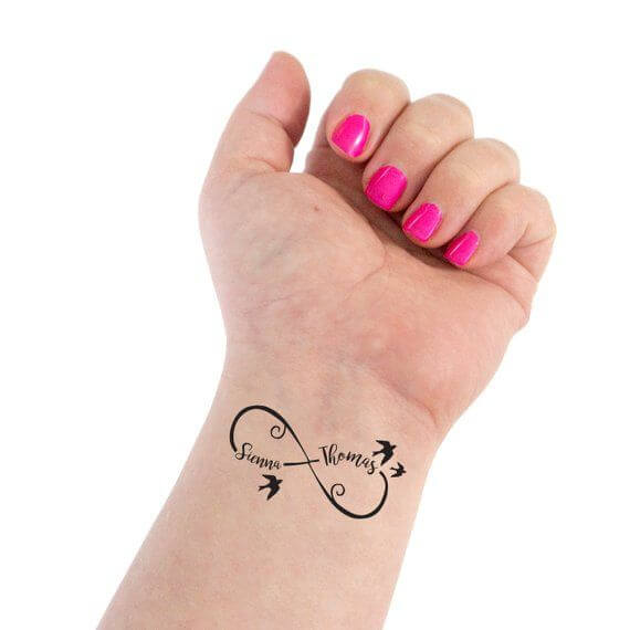 Here are top 10 ideas for embossing an infinity tattoo 24