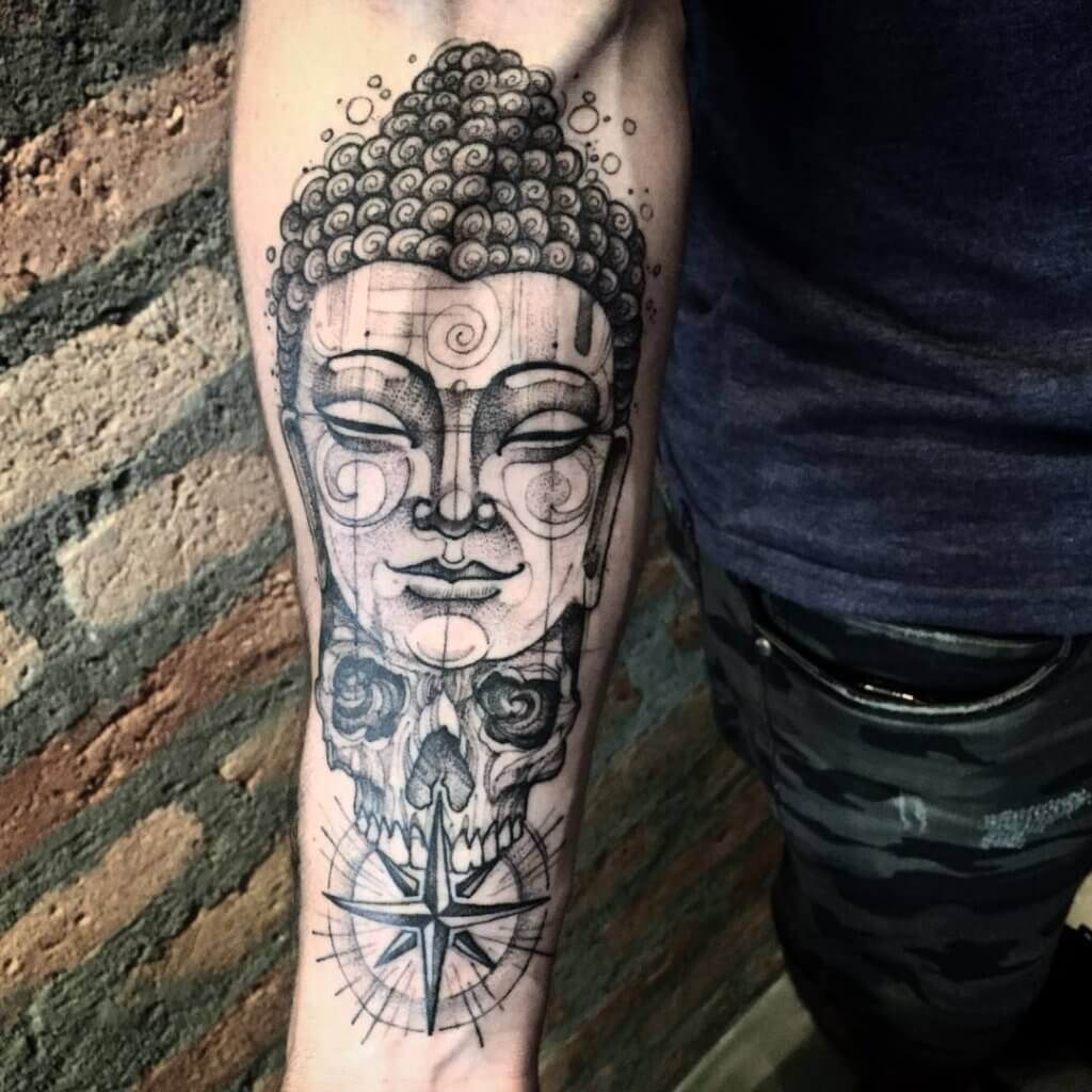 Enlisting the best Ideas for Buddhist Tattoos 45