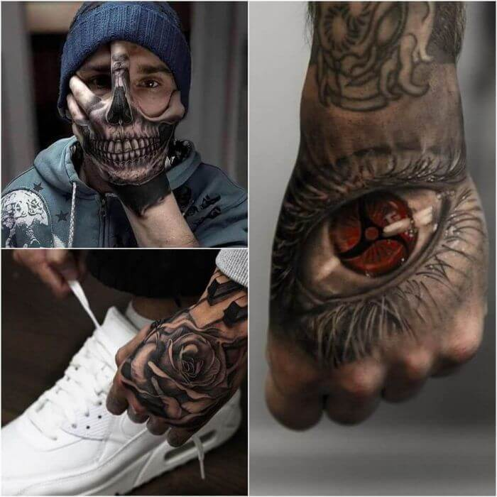 20 Hand Tattoo Ideas With Pictures 21