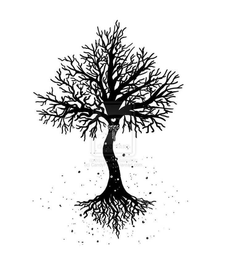 Top 10 And Best ideas for having Oak Tree Designed Tattoos 10