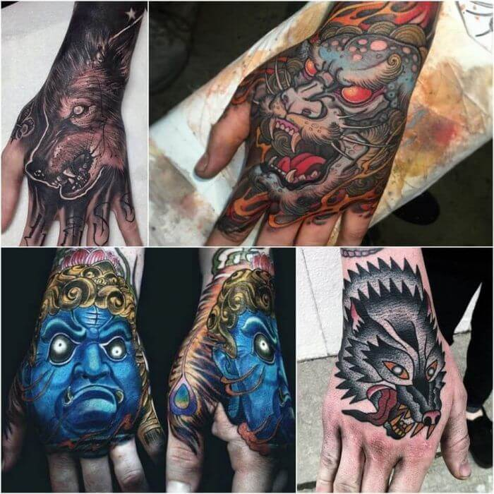 20 Hand Tattoo Ideas With Pictures 7