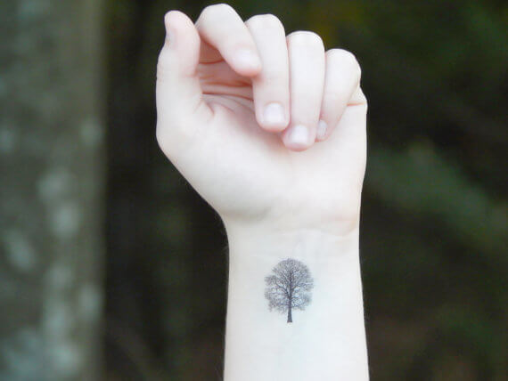 Top 10 And Best ideas for having Oak Tree Designed Tattoos 12
