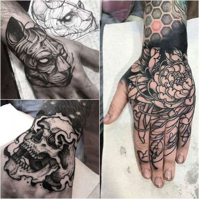20 Hand Tattoo Ideas With Pictures 8
