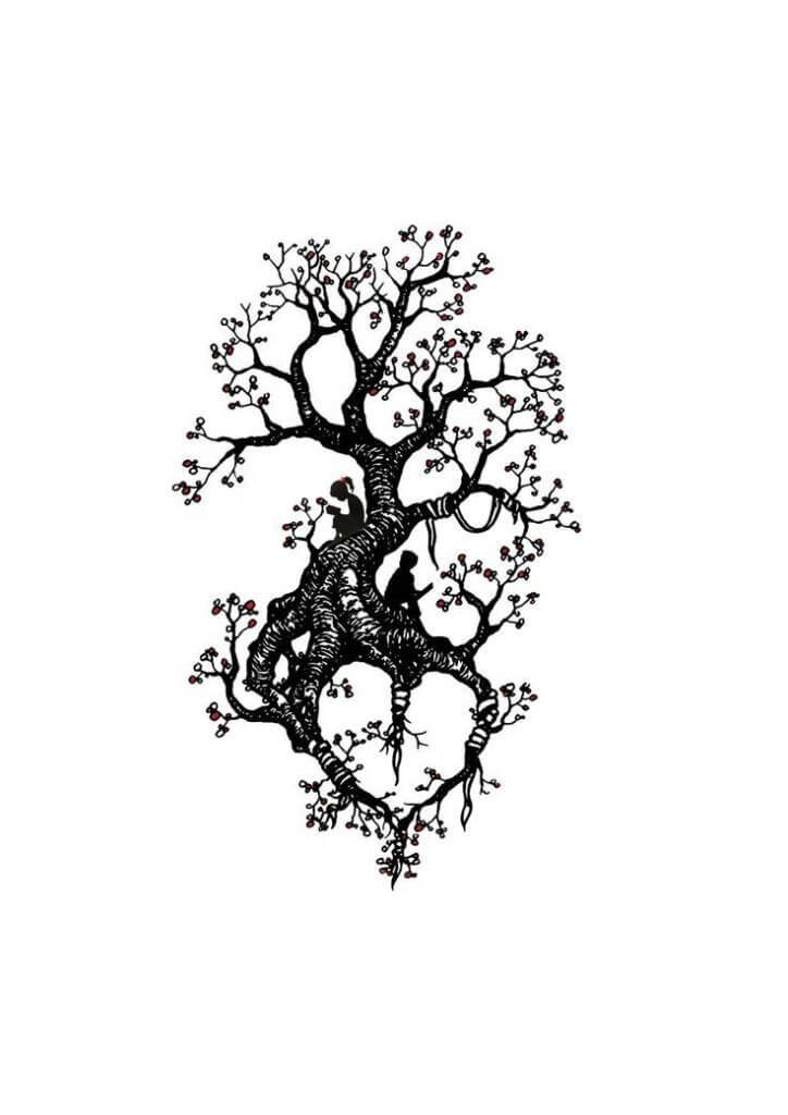 Top 10 And Best ideas for having Oak Tree Designed Tattoos 22