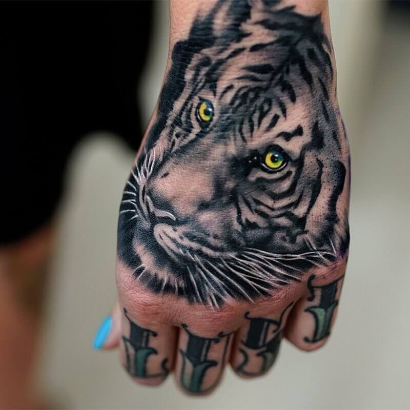 20 Hand Tattoo Ideas With Pictures 19